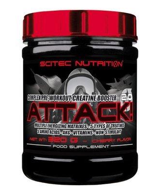 Attack 2.0 Scitec Nutrition 320 гр