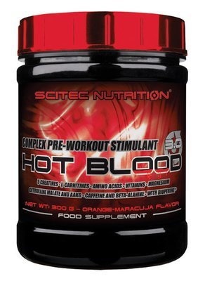 Hot Blood 3.0 Scitec Nutrition 300 гр.