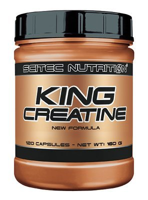 King Creatine Scitec Nutrition 120 капc.