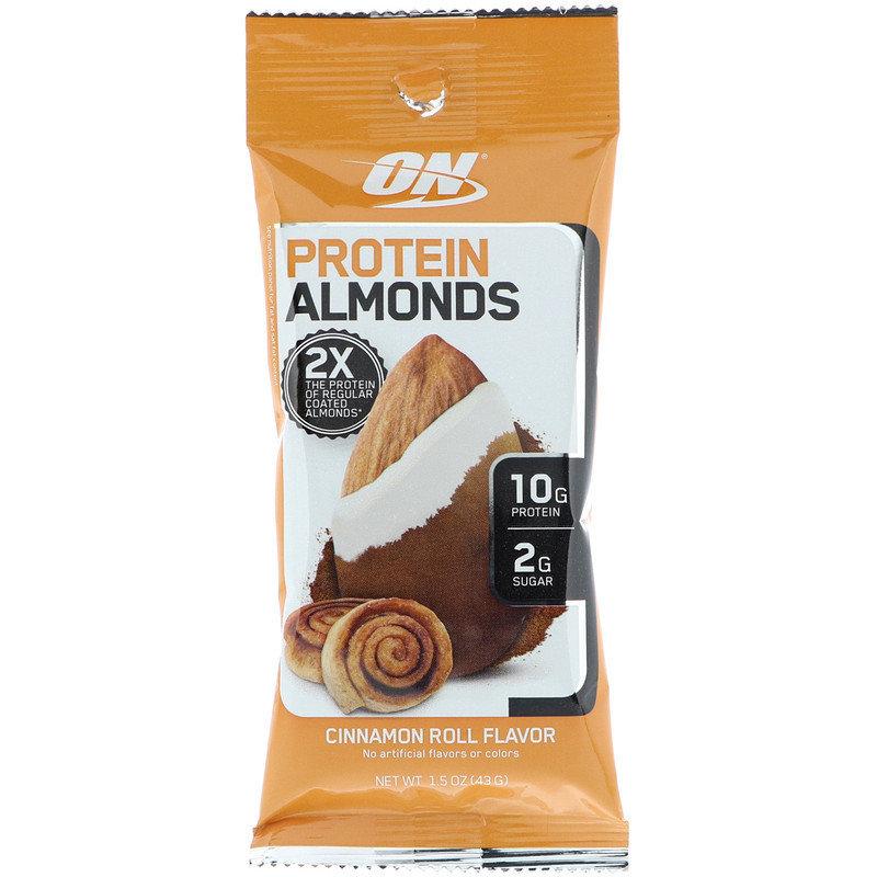Protein Almonds Optimum Nutrition 43 гр