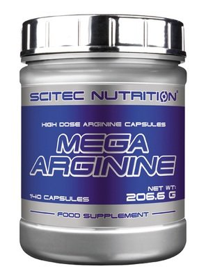 Mega Arginine Scitec Nutrition 140 капс