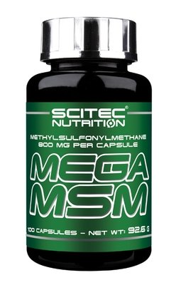 Mega MSM Scitec Nutrition 100 капc.