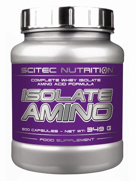 Isolate Amino Scitec Nutrition 500 капс.
