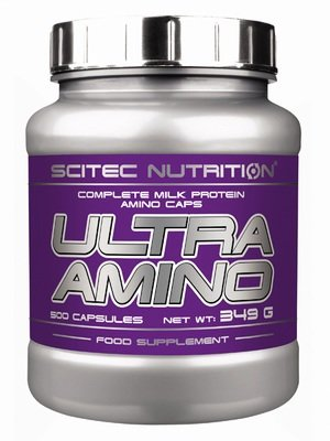 Ultra Amino Scitec Nutrition 500 капс.