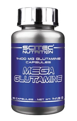 Mega Glutamine Scitec Nutrition 90 капс.