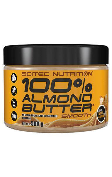 100% Almond Butter Scitec Nutrition 500 гр.