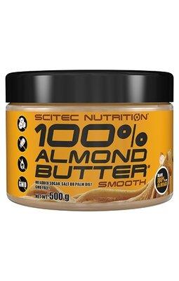 100% Almond Butter Scitec Nutrition 500 гр.