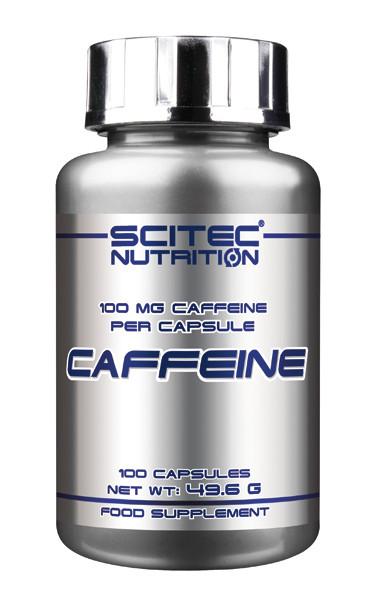 Caffeine Scitec Nutrition 100 капс