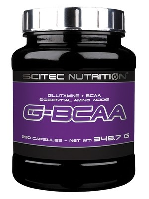 G-BCAA Scitec Nutrition 250 капс.