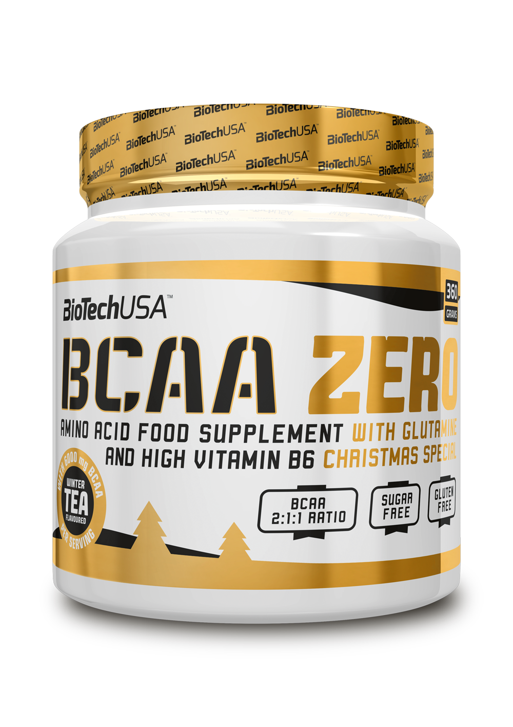 BCAA Zero XMAS Biotech USA 360гр.