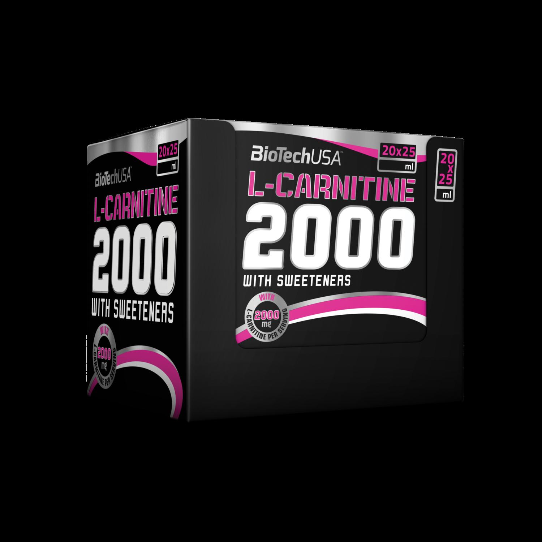 L-Carnitine 2000 Biotech USA (20ампул * 25мл.)
