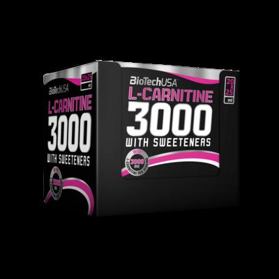 L-Carnitine 3000 Biotech USA (20ампул * 25мл.)