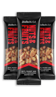Nuts and Fruits Biotech USA (28шт*40гр.)