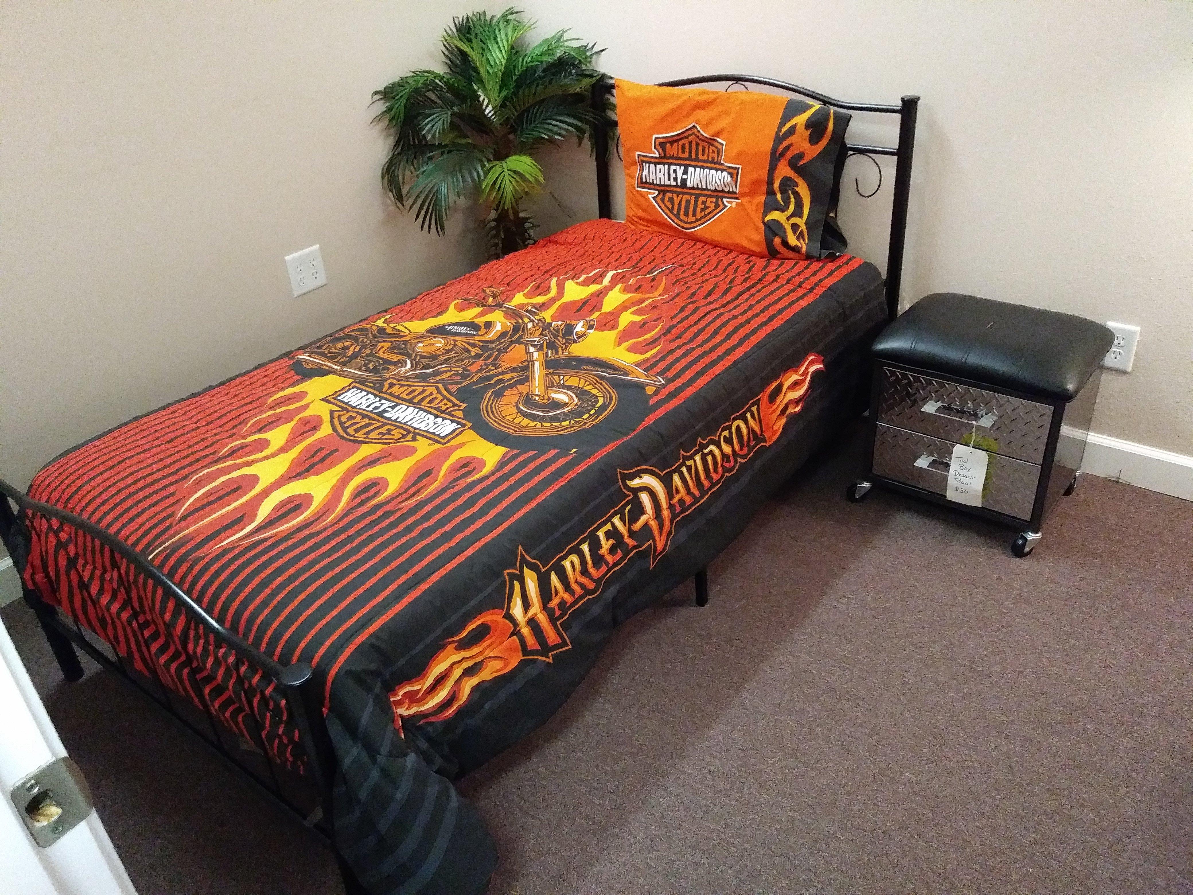 Harley Davidson Bedding Set 0010