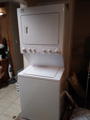 Kenmore Stacking Washer and Dryer