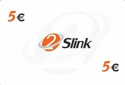 2Slink RCS Recharge card 5Euro