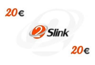 2Slink RCS Recharge card 20 Euro