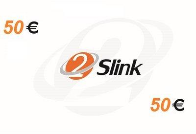 2Slink RCS Recharge card 50 Euro