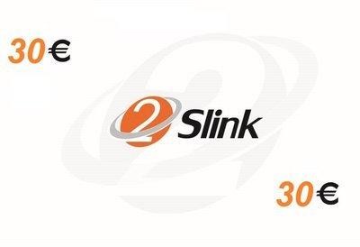2Slink RCS Recharge card 30 Euro