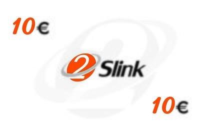 2Slink RCS Recharge card 10 Euro