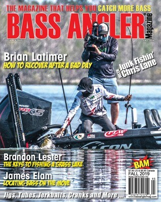 2019 Fall Issue - BASS ANGLER Magazine