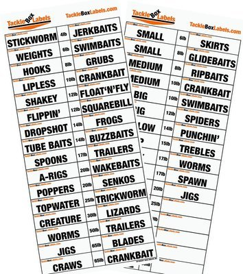 Buy Tackle Box Labels Here