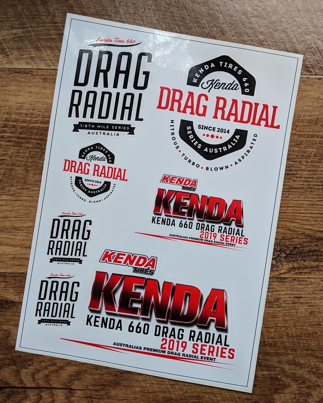 Kenda Sticker Sheet