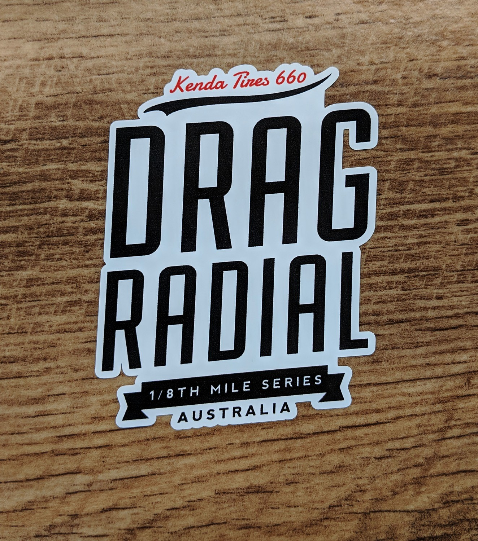Kenda Drag Radial Round 1 Sticker