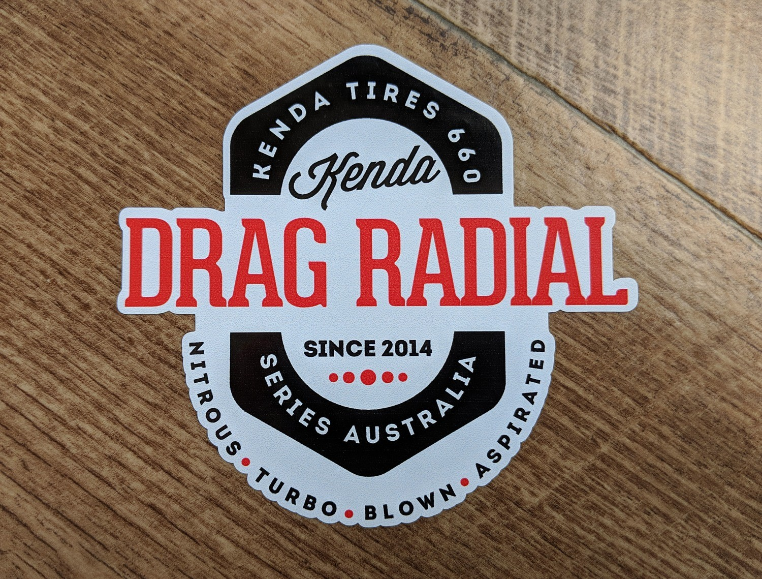 Kenda Drag Radial Badge Sticker
