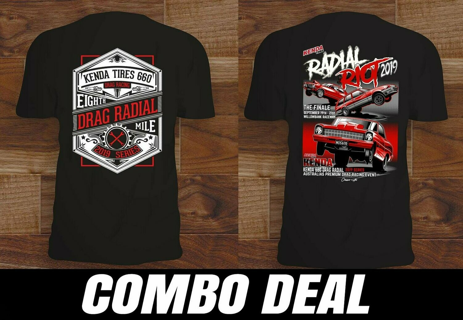 2019 Radial Riot T-Shirt Combo