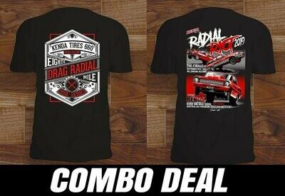 2019 Radial Riot T-Shirt Combo