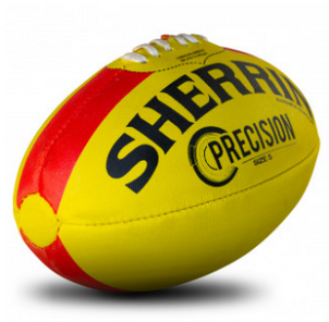 Sherrin Precision Australian Rules Football Size 4 - Yellow