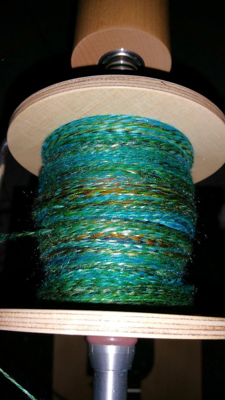 Wolle ausspinnen pro 100g