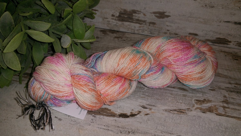 Sockenwolle mit Baumwolle und mehr 4fach