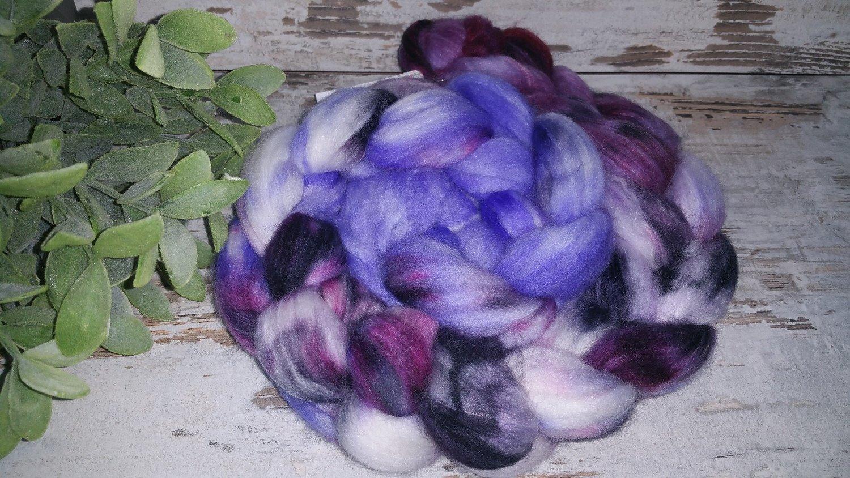 Kammzug Hyazinthe, perfekt für Sockenwolle