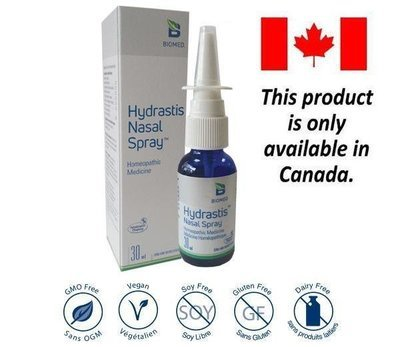 Hydrastis Nasal Spray