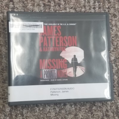 Missing: A Private AudioBook Novel by James Patterson & Kathryn Fox