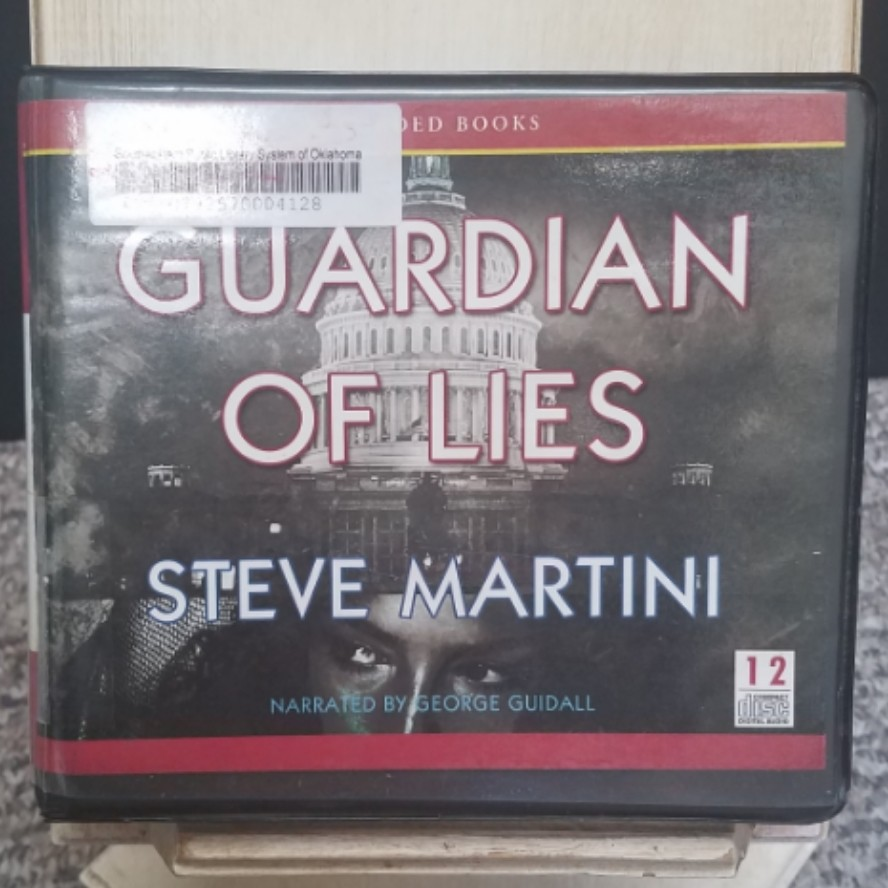 Guardian of Lies by Steve Martini AudioBook