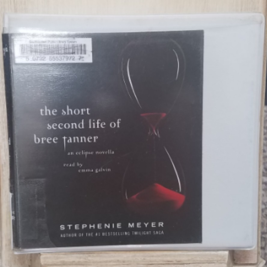 The Short Second Life of Bree Tanner by Stephenie Meyer AudioBook