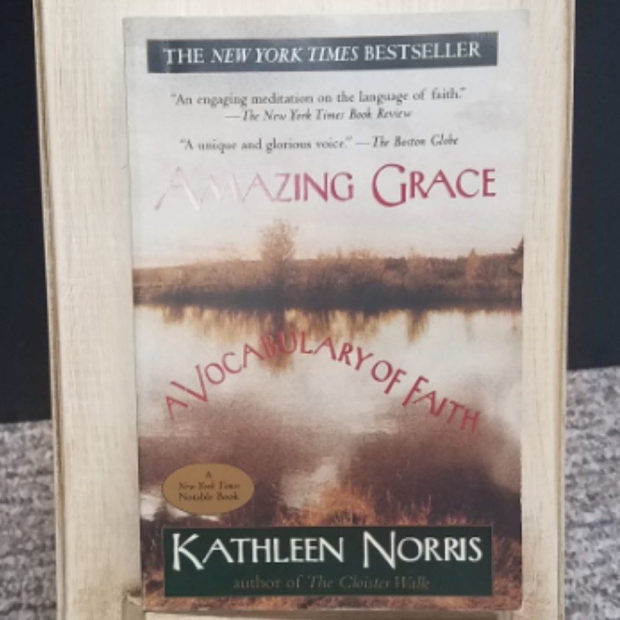 Amazing Grace: A Vocabulary of Faith by Kathleen Norris