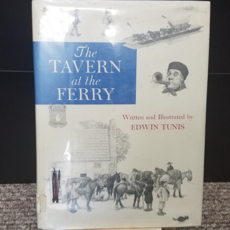 The Tavern at the Ferry by Edwin Tunis