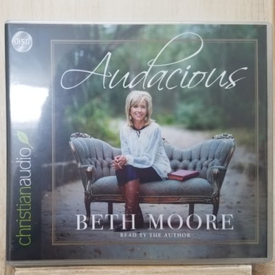 Audacious by Beth Moore AudioBook