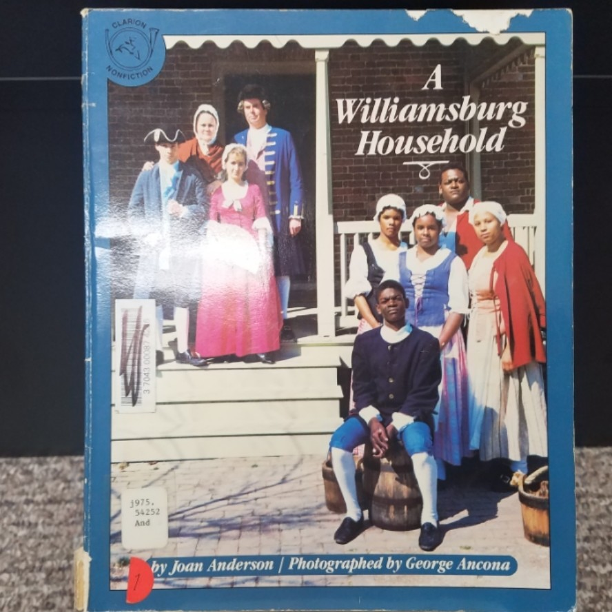 A Williamsburg Household by Joan Anderson