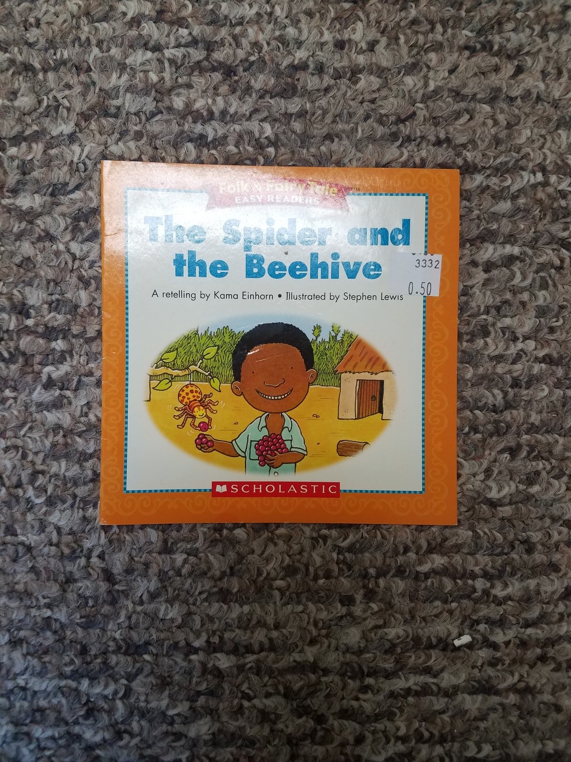 The Spider and the Beehive by Kama Einhorn