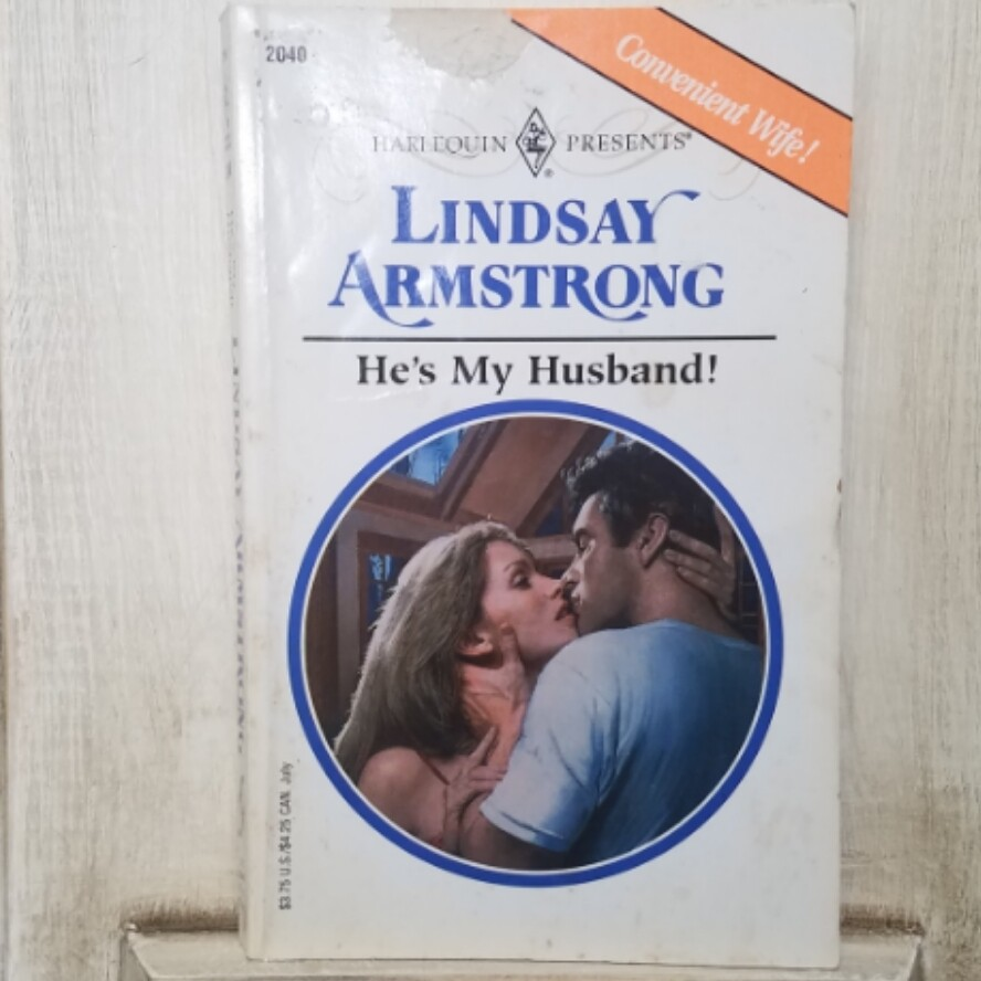 He's My Husband! by Lindsay Armstrong
