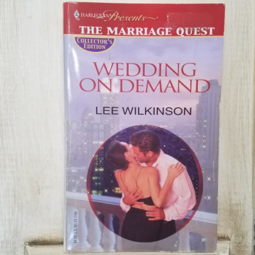 Wedding on Demand by Lee Wilkinson