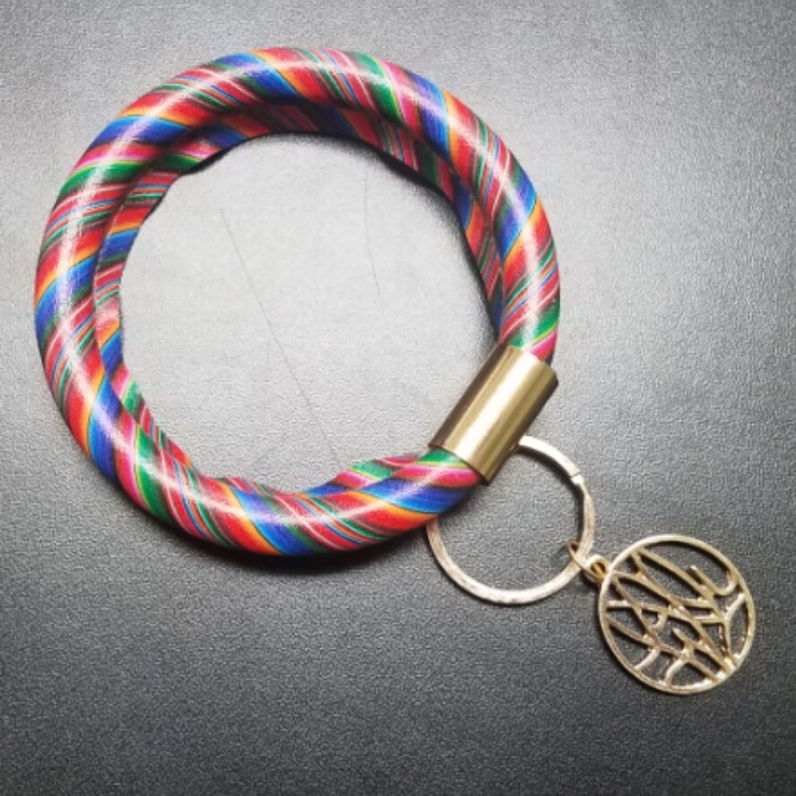 Bracelet Key Chain - Serape