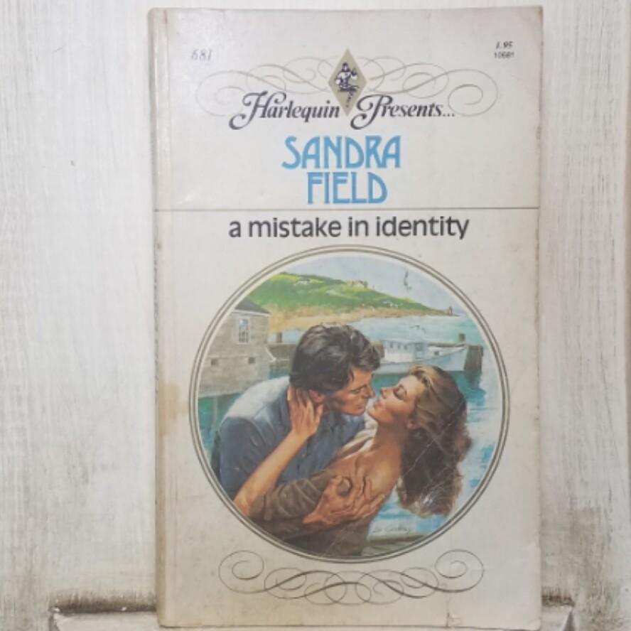 A Mistake in Identity by Sandra Field