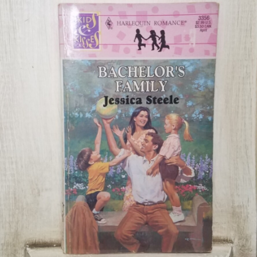 Bachelor's Family by Jessica Steele