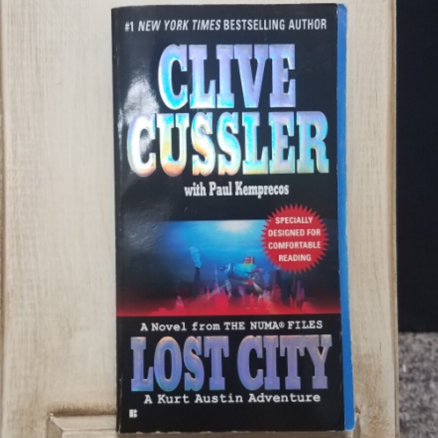 Lost City by Clive Cussler with Paul Kemprecos